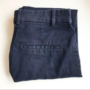 H&M Dark Blue Trouser Pants